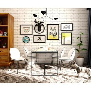 deco murale industrielle pas cher. Black Bedroom Furniture Sets. Home Design Ideas