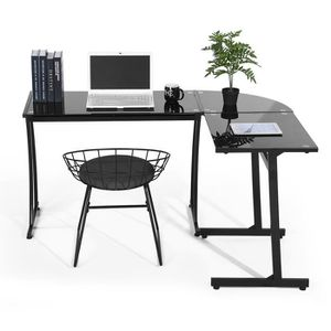 MEUBLE INFORMATIQUE FurnitureR Bureau d'angle Bureau informatique Cont