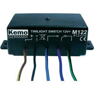 Kemo m197 crépuscule Interrupteur 12-28 v//DC pour maison /& Jardin Capteur de lumière
