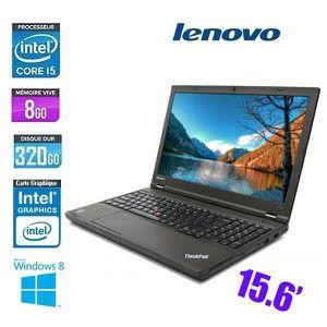 Achat PC Portable LENOVO THINKPAD T540P CORE I5 8GO 320GO pas cher