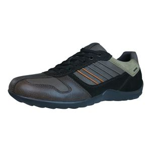 BASKET Geox U Symbol A Lisses Baskets en cuir / Chaussure
