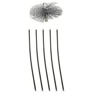 ACCESSOIRES RAMONAGE Kit de ramonage SCID Acier Long.1,4m Diam.250mm