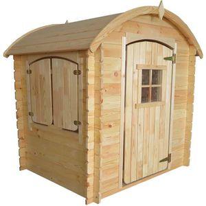 MAISONNETTE EXTÉRIEURE Cabane en bois pour enfant  PATTY