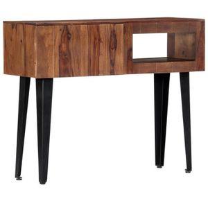 BUFFET - BAHUT  vidaXL Table console 90 x 30 x 75 cm Bois de Sesha