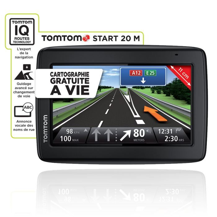 auto gps car audio electronique tomtom start  m europe cartographie a vie f en