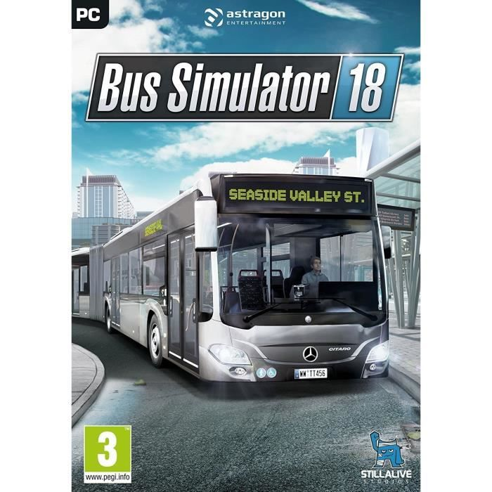 Bus Simulator 18 Jeu PC