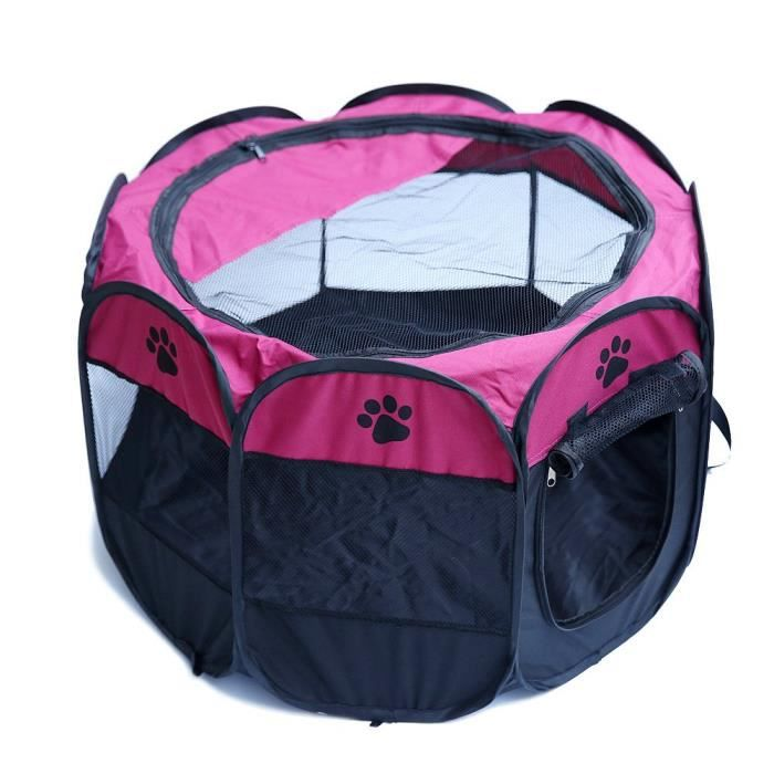 Pet Puppy Dog Cat Rabbit Guinea Pig Play Pen House Portable Fabric Crate Cage Ke 3IWQOY