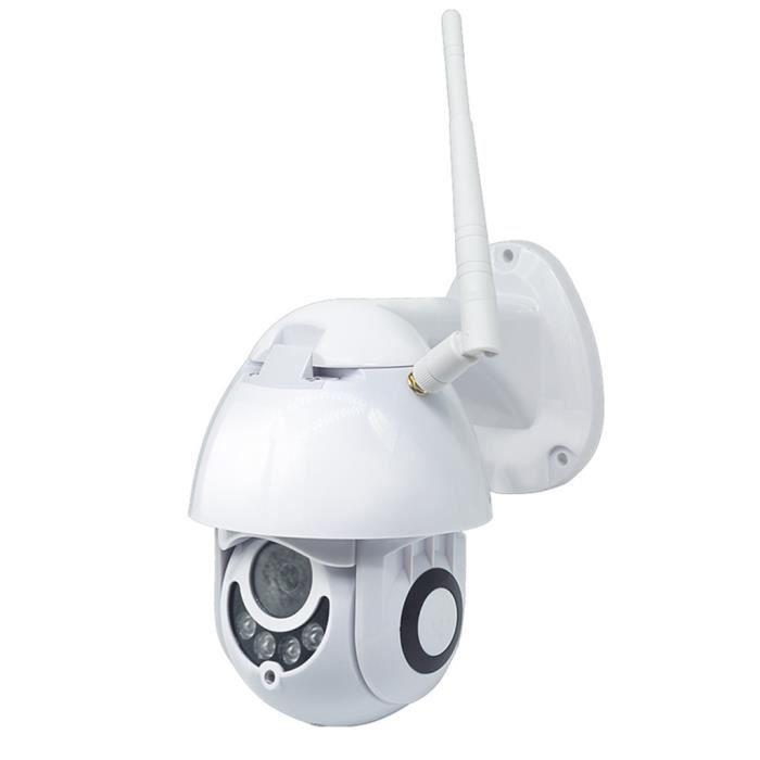 Voix bidirectionnelle de sécurité à la maison de vision nocturne extérieure de caméra IP de WIFI de 1080P