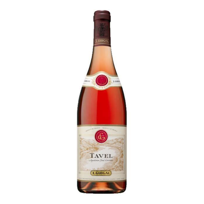 Tavel vin rosé 6x75cl Guigal