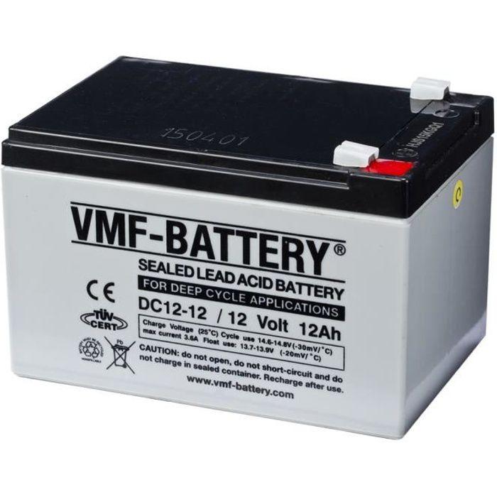 P0 Batterie AMG VMF a decharge profonde 12 V 12 Ah DC12-12