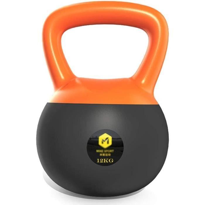Haltère Fitness Kettlebell 8KG - 12KG - 16KG, Cloche de Bouilloire de Poids Lourd pour L'entraînement Cardio de Force, Kettlebel238