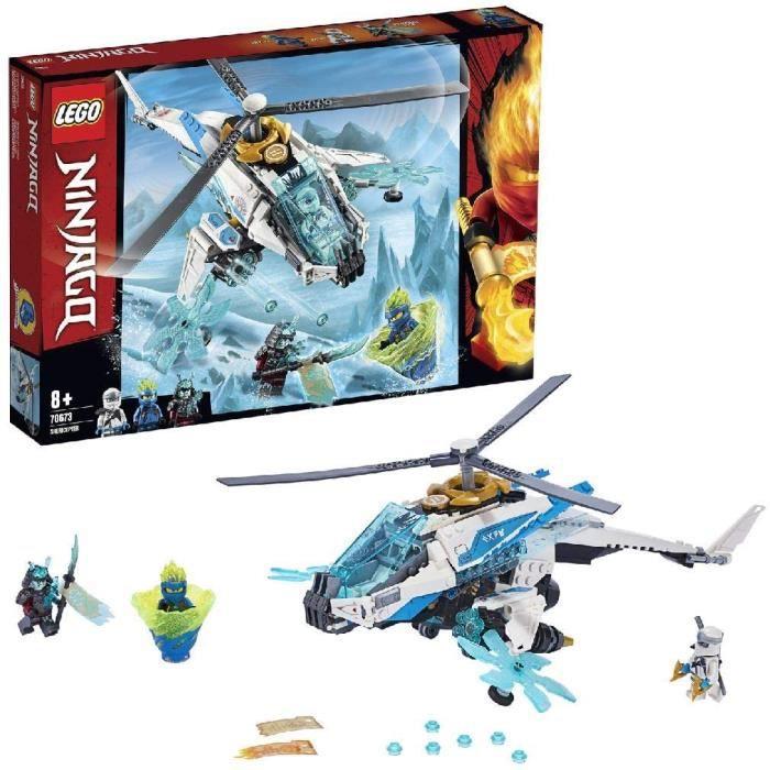 Jeux de construction LEGO®-NINJAGO® Le ShuriCopter Jeu pour Enfant 8 Ans et Plus, Briques de Construction Garçon et Fill 52578