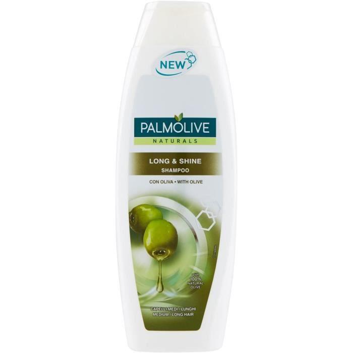 Sets de shampooings et après-shampooings Palmolive Long & Shine Shampooing Olive 796608