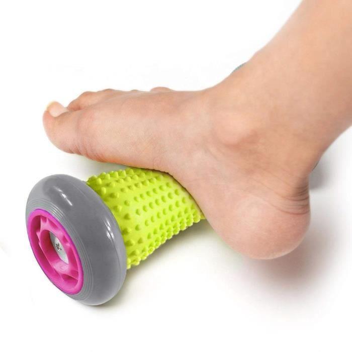 Rouleau de massage révolutionnaire pour pied - Bâton de massage musculaire - Rouleau d'exercice pour poignets, avant-bras et fasc