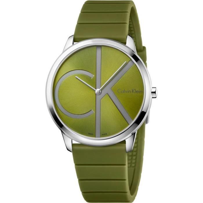 Calvin Klein Minimal K3M211WL Montre-Bracelet pour hommes Classique & Simple