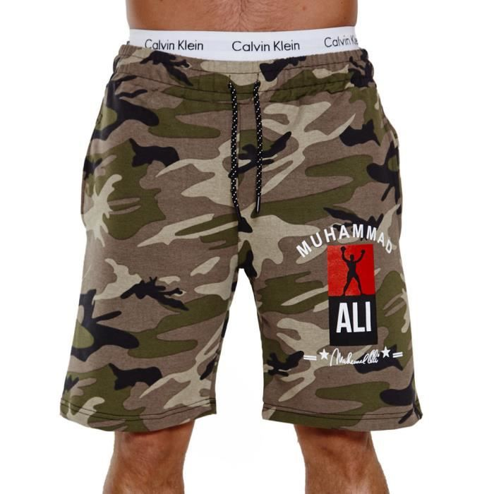 Short homme camouflage Short 3726 vert