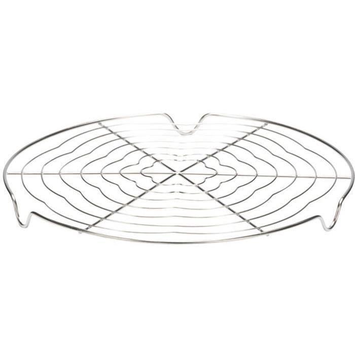 Volette à pâtisserie D : 30 cm - inox