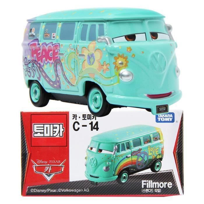 Tomica Takara Tomy Disney Movie Pixar Motors C-14 Phillmore Diecast Toy CARS 2
