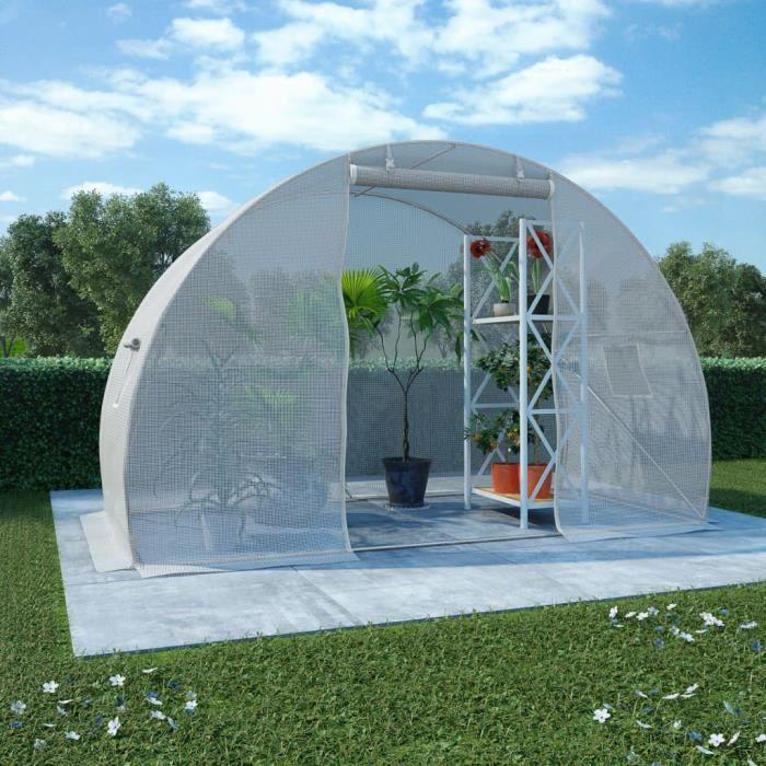 Serre 4,5 m² 300x150x200 cm-DIN