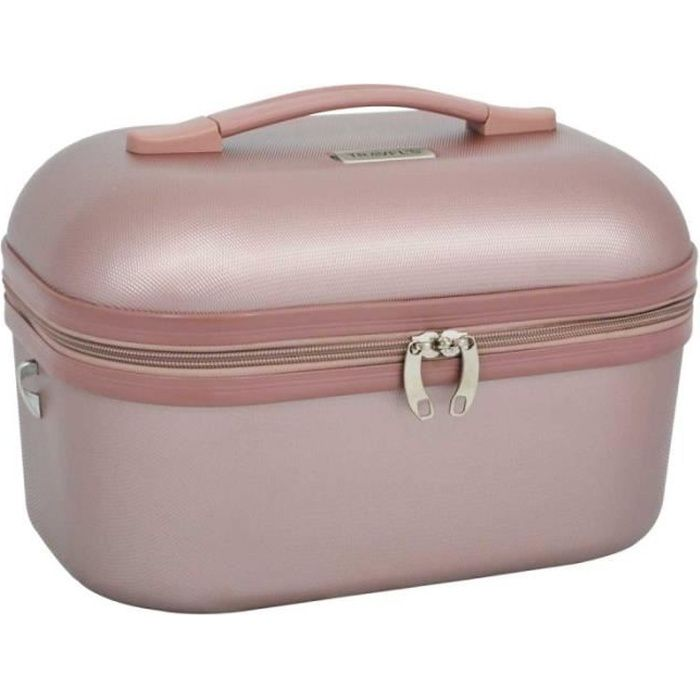 Vanity case TRAVEL'S -Kelly- - rose gold - TRA-651RO-17-KELLY