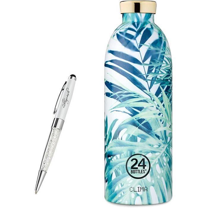 y compris le stylo /à bille humain pr/éf/ér/é 24 Bouteilles Bouteille Clima 330 ml 850 ml divers couleurs Farbe:Black Radiance 500 ml Gr/ö/ße:330 ml