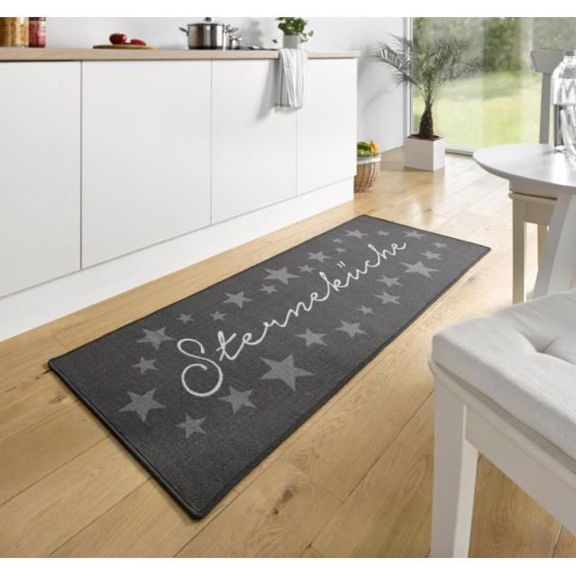 tapis de cuisine sternek che gris 67x180 cm 102369 achat vente tapis de cuisine cdiscount. Black Bedroom Furniture Sets. Home Design Ideas