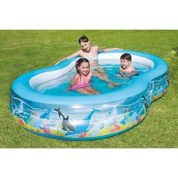 juniors plein air piscine familiale poissons corail  boudins best f bes