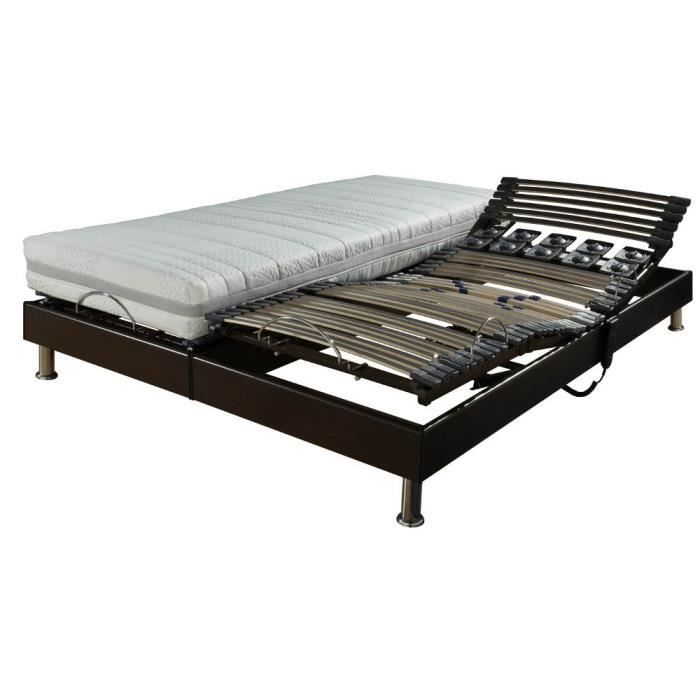 lit l ctrique matelas latex eolys achat vente lit. Black Bedroom Furniture Sets. Home Design Ideas
