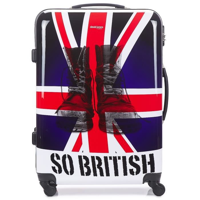 valise david jones so british 53l achat vente valise bagage 3563778818224 cdiscount. Black Bedroom Furniture Sets. Home Design Ideas