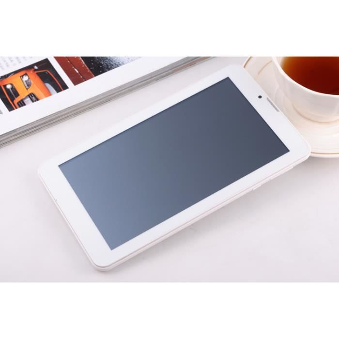 TABLETTE TACTILE YziPocketPhone - Blanche et aluminimum