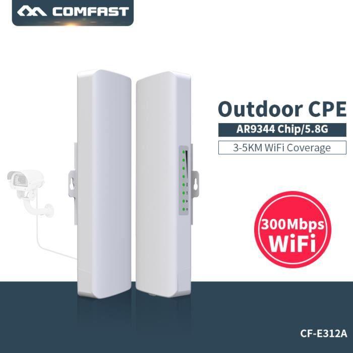 POINT D'ACCÈS  COMFAST 300Mbps 5.8Ghz AP Point d'Accès Routeur E