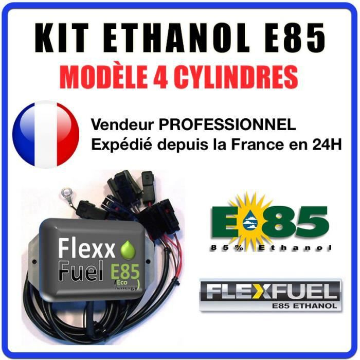 kit ethanol e85 4 cylindres flex fuel kit kit de conversion bioethanol e85 achat vente. Black Bedroom Furniture Sets. Home Design Ideas