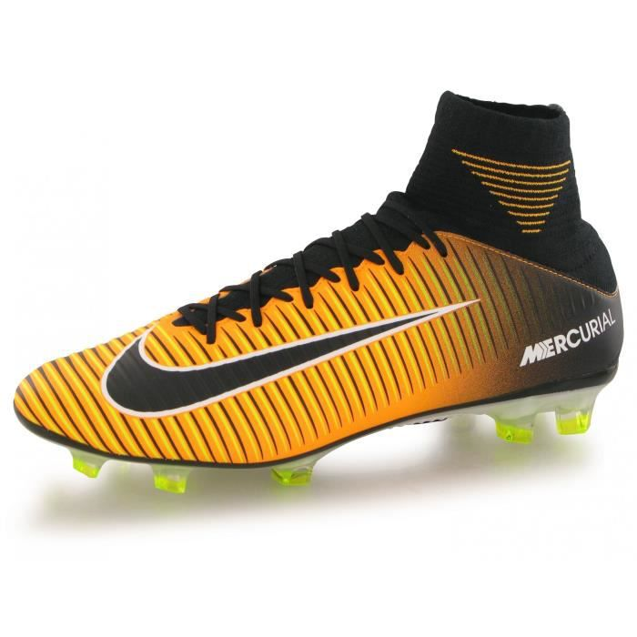 Chaussures Nike Mercurial Veloce orange homme