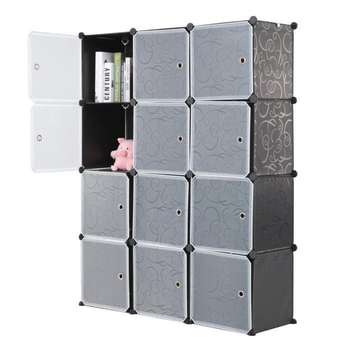 Armoires Etageres Plastique 12 Cubes Meuble Rangement Chambre Enfants Bebes Achat Vente Armoire De Chambre Armoires Etageres Plastique Cdiscount
