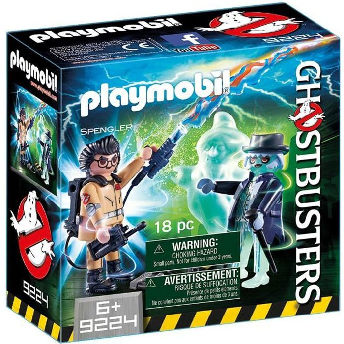 UNIVERS MINIATURE PLAYMOBIL 9224 - Ghostbusters Edition Limitée - Sp