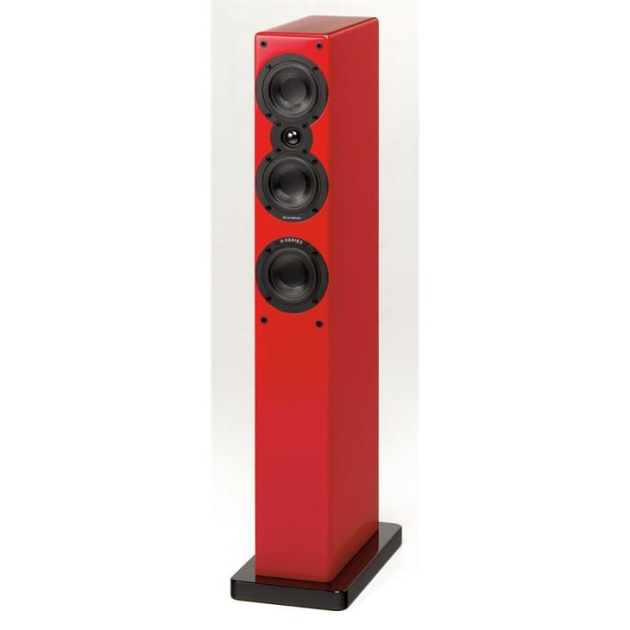 scansonic s9 enceinte colonne 200w rouge achat vente enceintes scansonic s9 enceinte. Black Bedroom Furniture Sets. Home Design Ideas