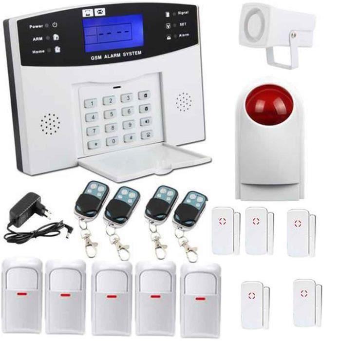 STOEX® kit alarme maison sans fil auto appel téléphonique ...
