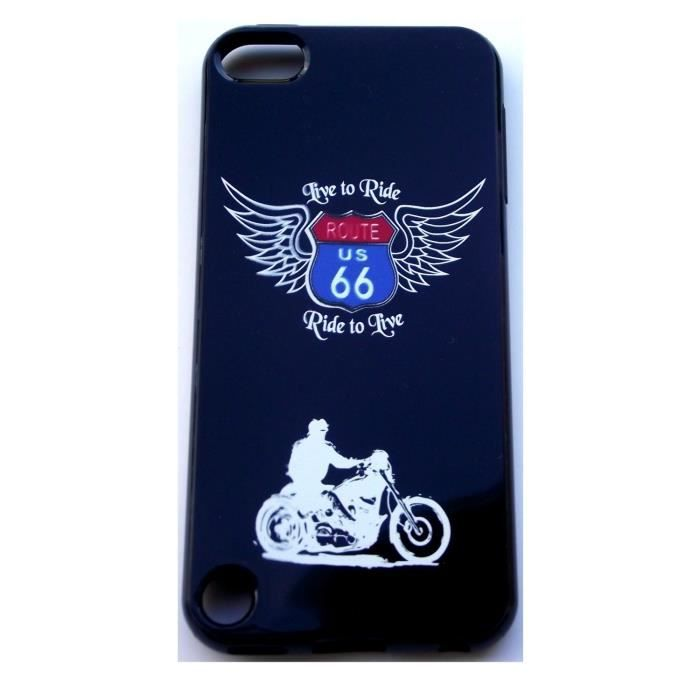Housse coque route 66 pour ipod touch 5 achat vente for Housse ipod touch