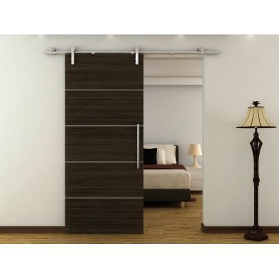porte coulissante en applique gayac h205 x l8 achat vente porte coulissante porte. Black Bedroom Furniture Sets. Home Design Ideas