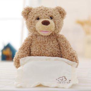 POUPÉE Gund Baby Mon premier ours en peluche Peek A Boo A