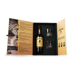 WHISKY BOURBON SCOTCH Jameson Triple Distilled - Coffret Dégustation 2 v