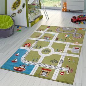 Tapis de jeu pour enfant motif portuaire
