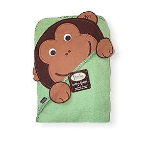 Monkey. Extra Large absorbant serviette /à capuche 100cmx75cm