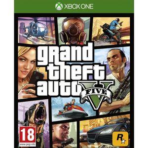 JEU XBOX ONE Jeu Xbox One TAKE 2 GTA 5