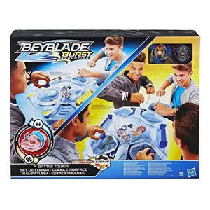 TOUPIE - LANCEUR Beyblade - Arene Double Surface et toupies Beyblad