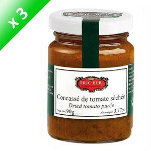 AUTRES SAUCES FROIDES ERIC BUR Concassé de Tomate Séchée Relevé - 90 g x