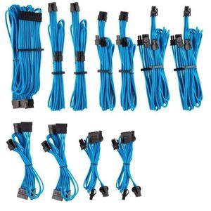 Cbles EPS 12 V//ATX 12 V type 4 Gen 4 /à gainage individuel CORSAIR Premium rouges