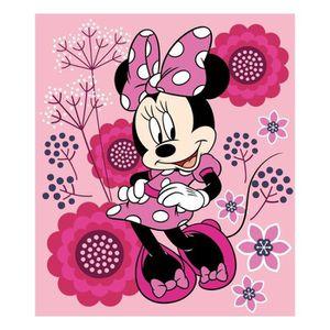 COUVERTURE - PLAID Disney Minnie plaid polaire - 100% polyester - 100