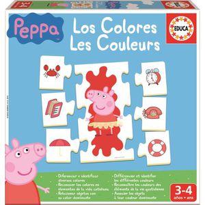 TABLE JOUET D'ACTIVITÉ PEPPA PIG Les Couleurs
