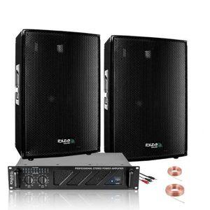 PACK SONO PACK SONO POLE DANCE 600W + AMPLI 480W + ENCEINTES